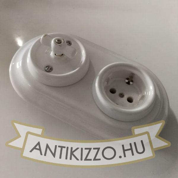 porcelan-kapcsolo-konnektor-feher