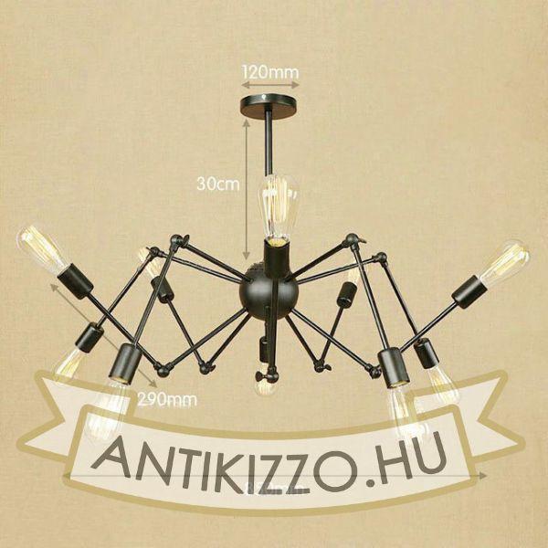 antik-10-karu-allithato-csillar-lampa