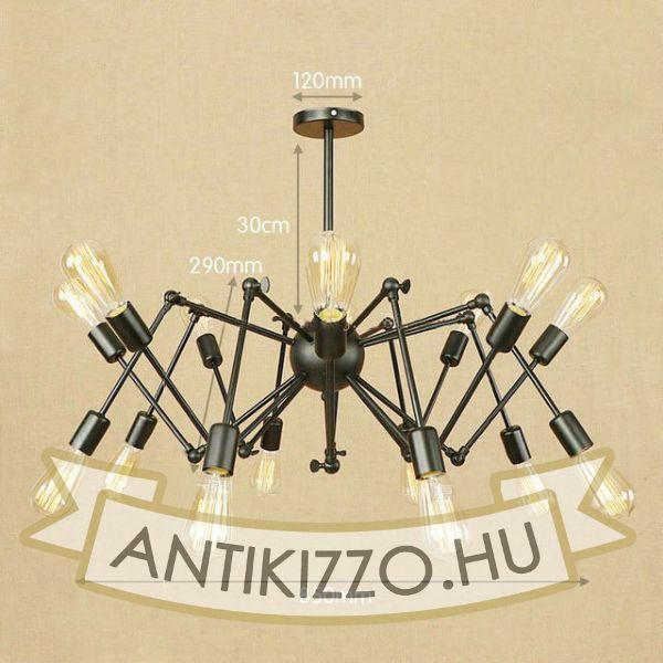 antik-16-karu-allithato-csillar-lampa