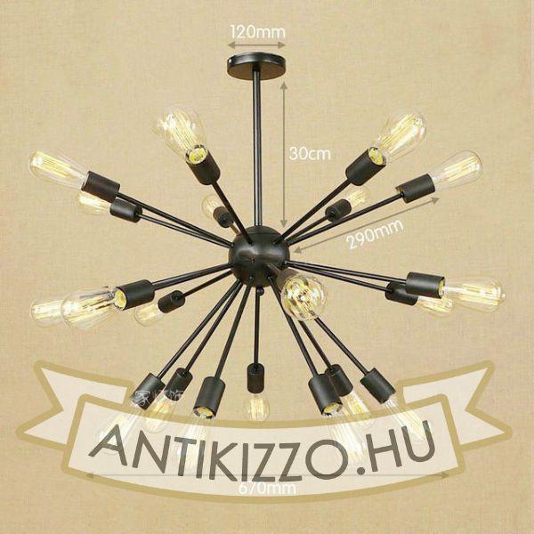 antik-21-karu-csillar-lampa