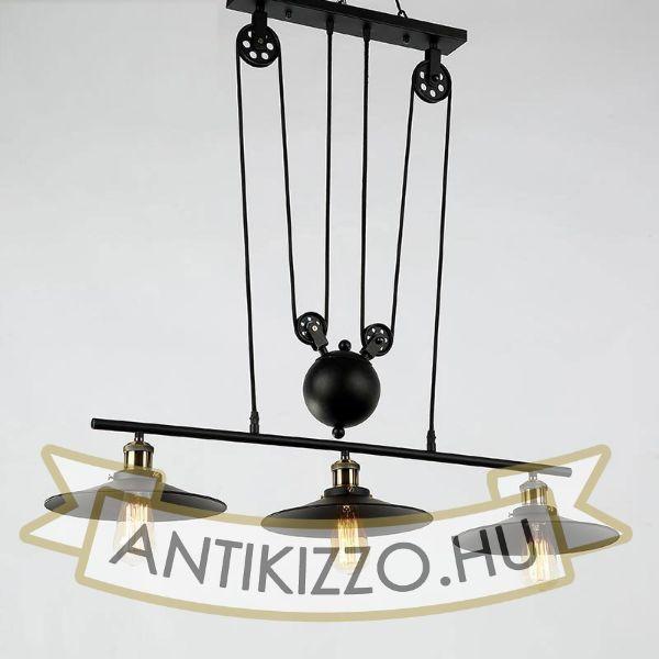 antik-3-as-csiga-lampa