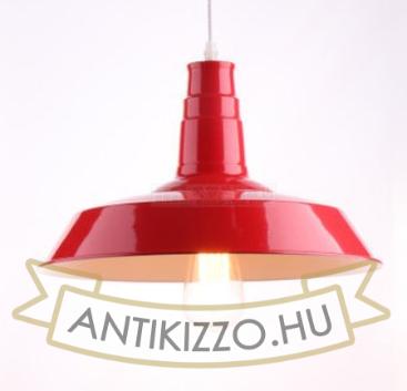 ipari-industrial-stilusu-fuggesztek-lampa-piros