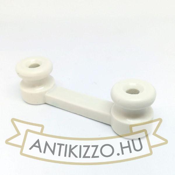 porcelan-kabel-rogzito-dupla-fenyes-feher