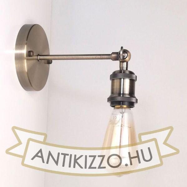 antik-fali-lampa-antik-bronz-szin