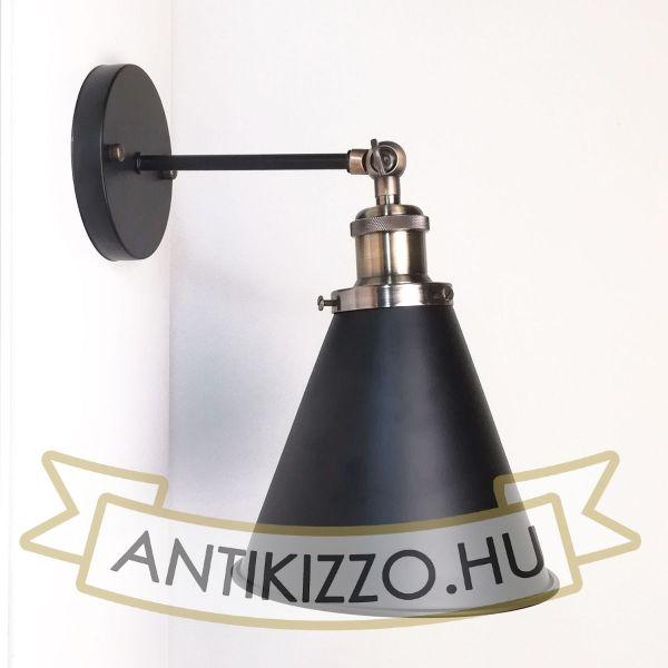 antik-fali-lampa-matt-fekete-antik-bronz-szin-olvaso-buraval