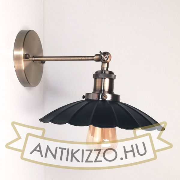 antik-fali-lampa-antik-bronz-szin-hullamos-buraval
