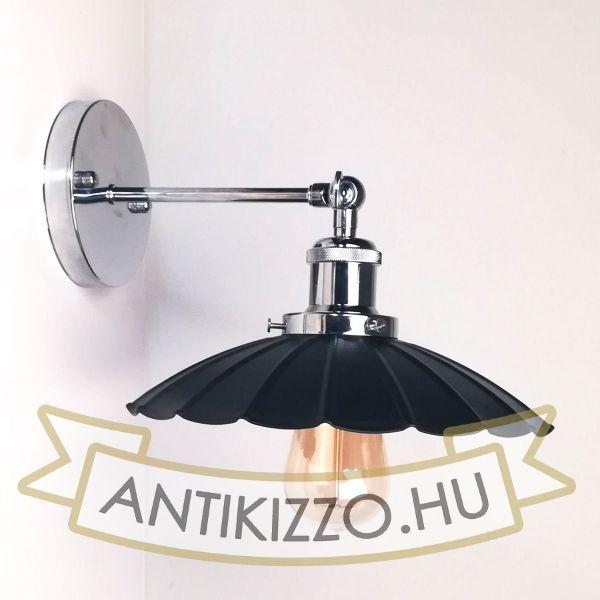 antik-fali-lampa-fenyes-krom-szin-hullamos-buraval