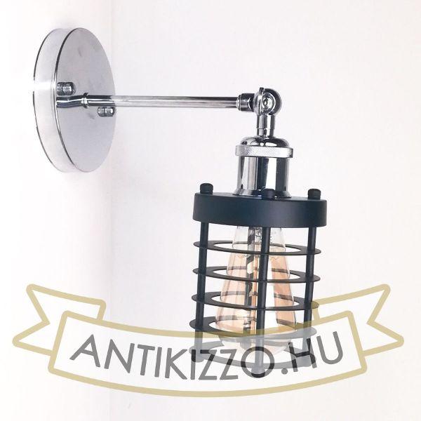 antik-fali-lampa-fenyes-krom-szin-csepp-alaku-raccsal