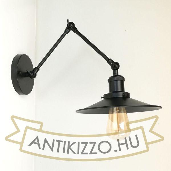 antik-fali-olvaso-lampa-matt-fekete-szin-lapos-buraval