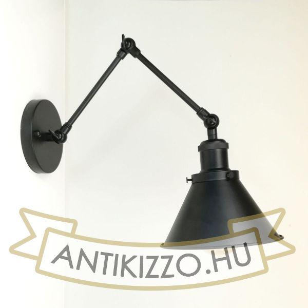 antik-fali-olvaso-lampa-matt-fekete-szin-kis-buraval