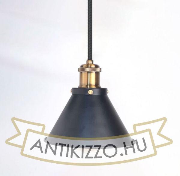 antik-fuggesztek-lampa-matt-fekete-antik-sargarez-szin-kis-buraval
