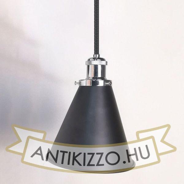 antik-fuggesztek-lampa-matt-fekete-fenyes-krom-szin-olvaso-buraval
