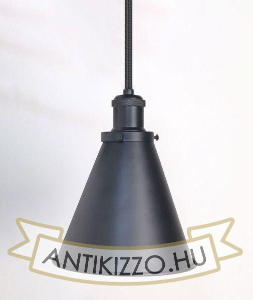 antik-fuggesztek-lampa-matt-fekete-szin-olvaso-buraval