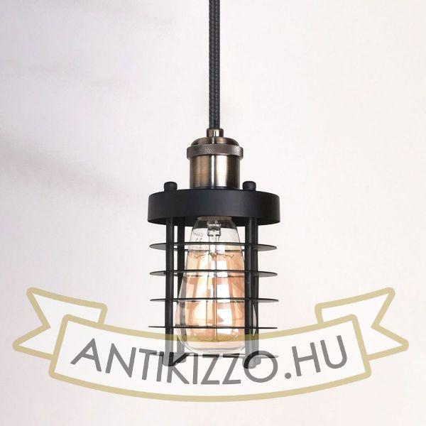 antik-fuggesztek-lampa-matt-fekete-antik-bronz-szin-henger-alaku-raccsal