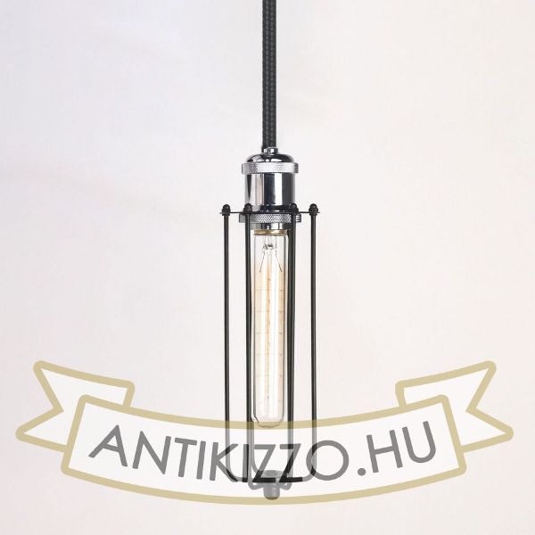antik-fuggesztek-lampa-matt-fekete-fenyes-krom-szin-hosszu-raccsal