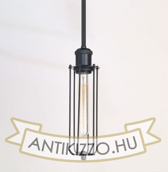 antik-fuggesztek-lampa-matt-fekete-szin-chosszu-raccsal