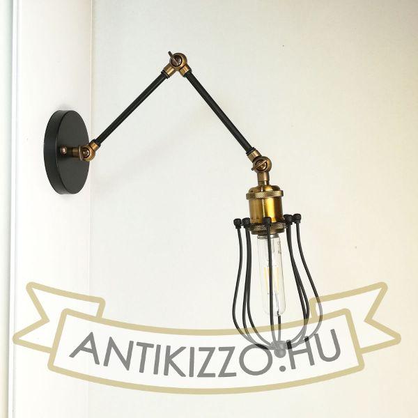 antik-fali-olvaso-lampa-csepp-alaku-raccsal