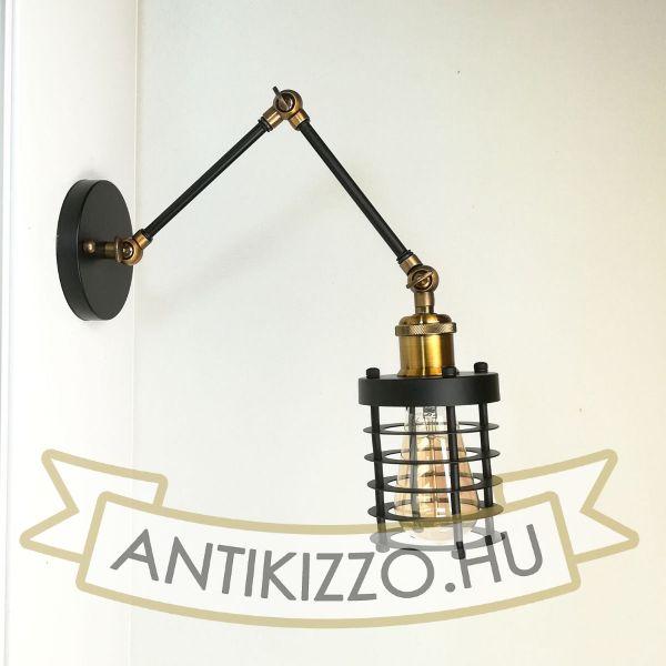 antik-fali-olvaso-lampa-henger-alaku-raccsal