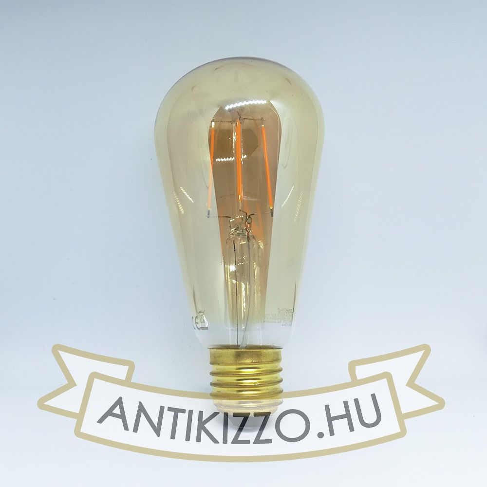 Picture of LED filament dekor izzó antikolt - ST64 - 4 watt