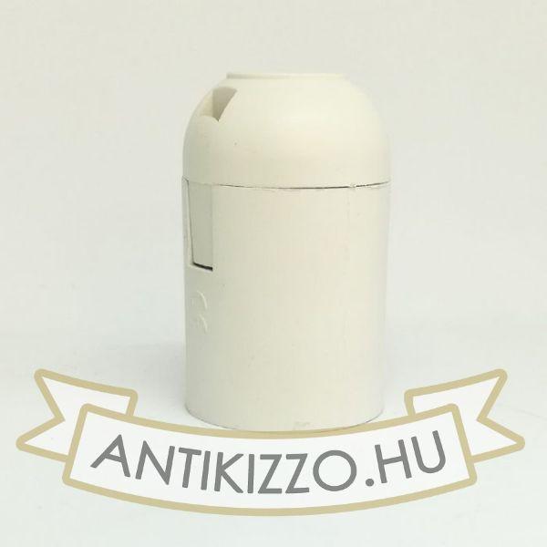 Bakelit Foglalat fehér szín E27