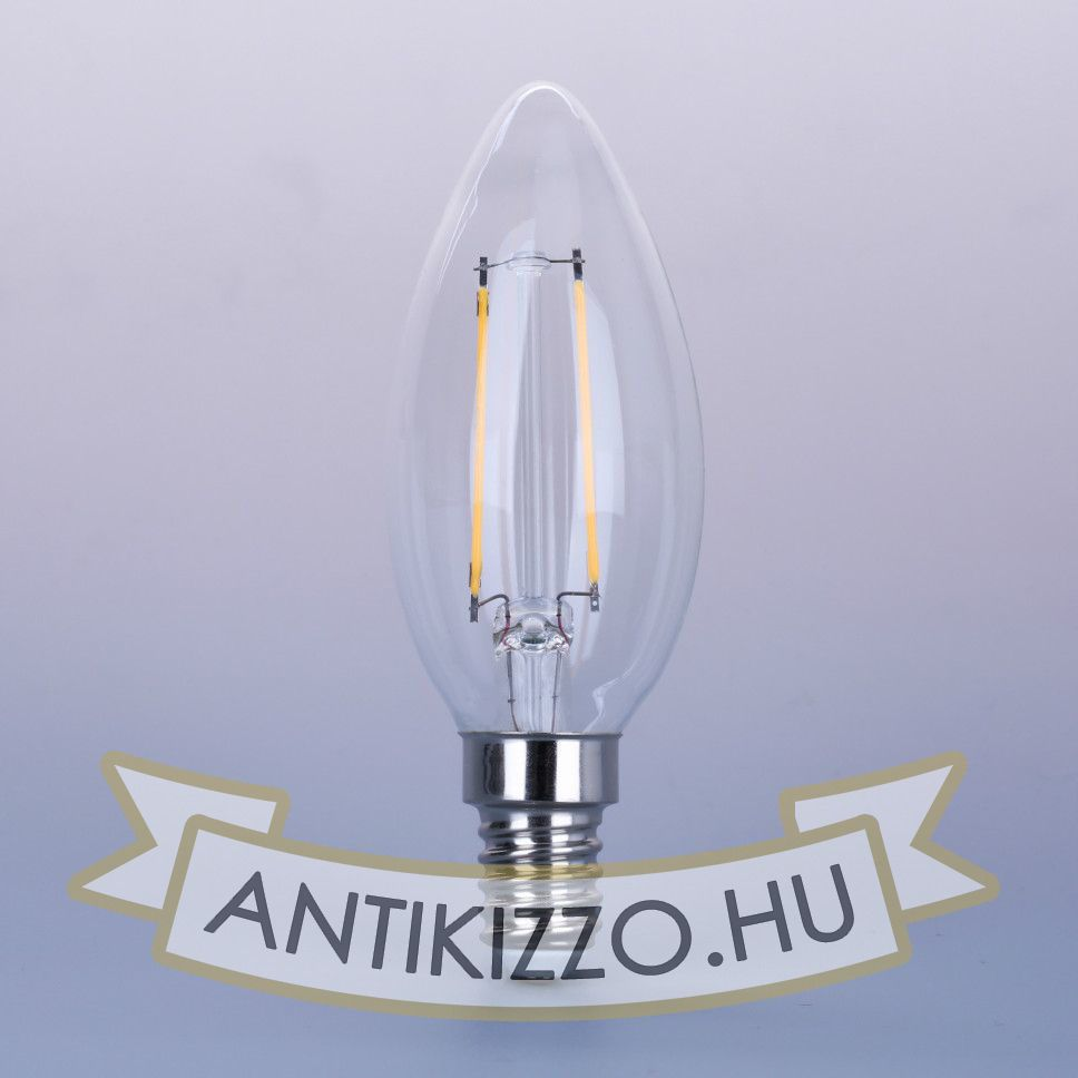 LED filament dekor izzó - C35 - 4 watt