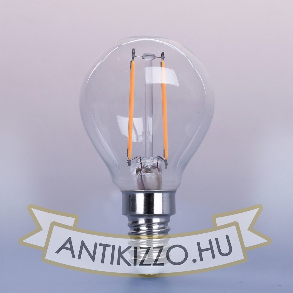 LED filament dekor izzó - G45 - 4 watt