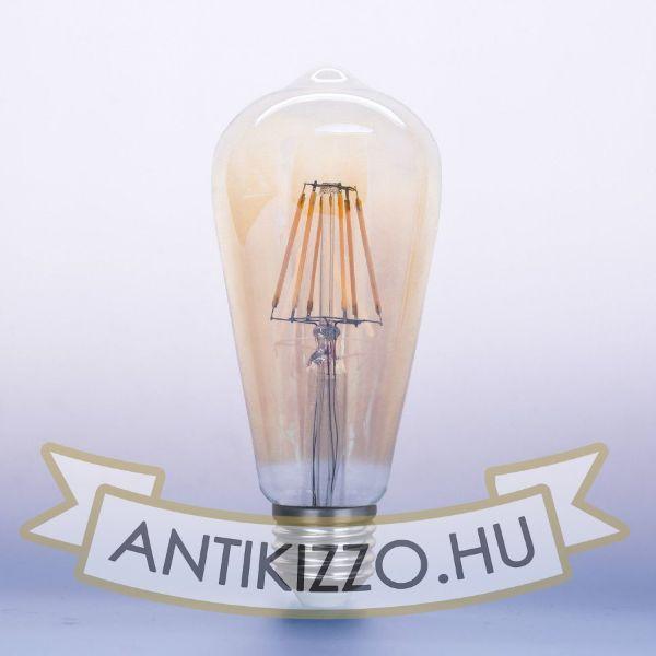 LED filament dekor izzó antikolt - ST64 - 8 watt 880LM