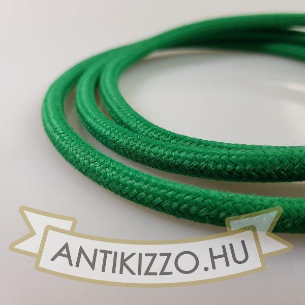 textil-kabel-zold-2x075