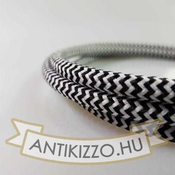 textilkabel-szovetkabel-antik-vezetek-feher-fekete-tarka-vasalokabel-2x075