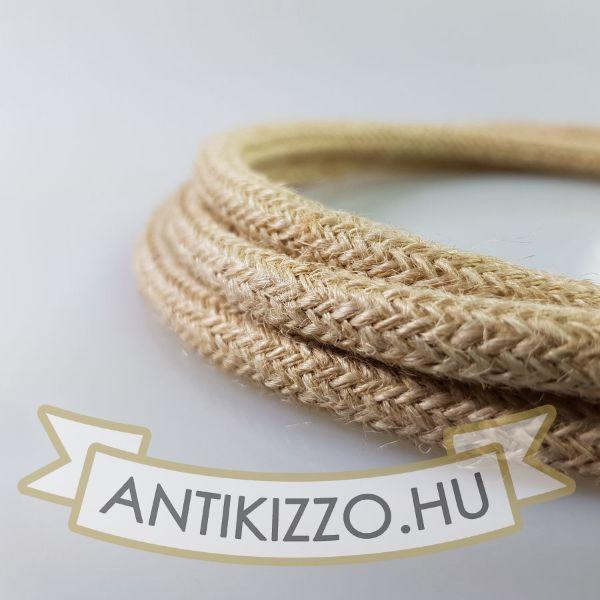 pamut-textilkabel-szovetkabel-antik-vezetek-vilagos-bezs-3x075