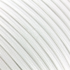 Textil kábel fehér 3x0,75
