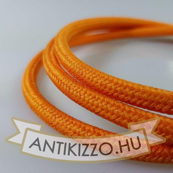 textil-kabel-narancssarga-2x075