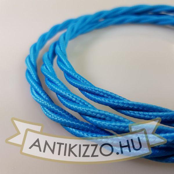 fonott-textilkabel-szovetkabel-antik-vezetek-vilagoskek-3x075
