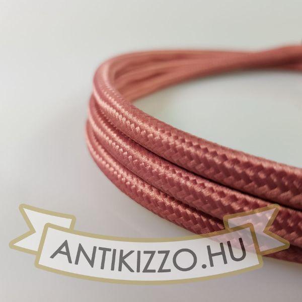 Textil kábel Mályva-2x0,5
