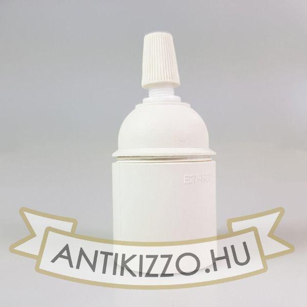 Thermoplastik Foglalat fehér szín E27