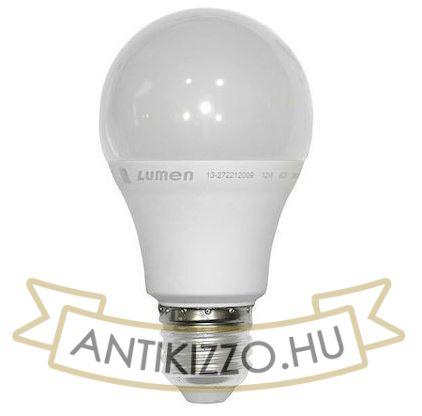 LED opál körte izzó - 12 watt - meleg fehér  szabályozható - 1200LM