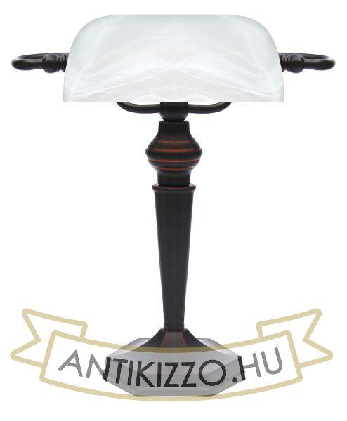 Bank lámpa E27 - Fehér burával