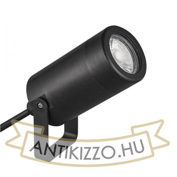 Fekete falvilágító - spot - GU10