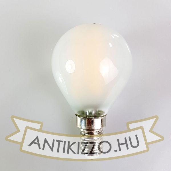 LED filament dekor izzó - G45 opál - 4 watt - szabályozható