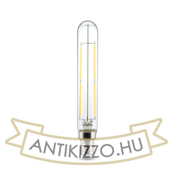 LED filament dekor izzó - T20- 4 watt - E14