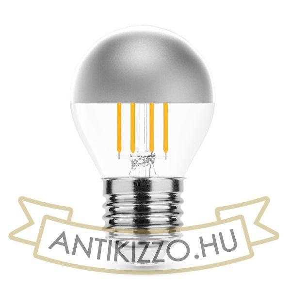 Modee Lighting LED Izzó Filament G.Mini P45 Silver Top 4W E27 320° 2700K