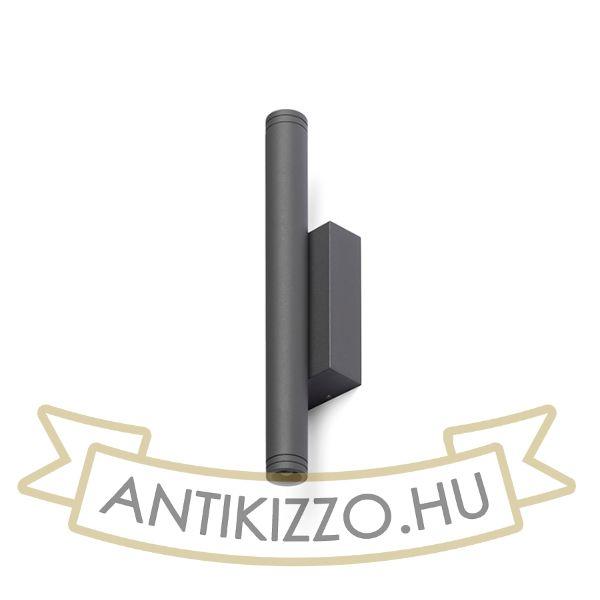 Kép ZANE fali lámpa anrtracitszürke  230V LED 2x3W 60° IP54  3000K