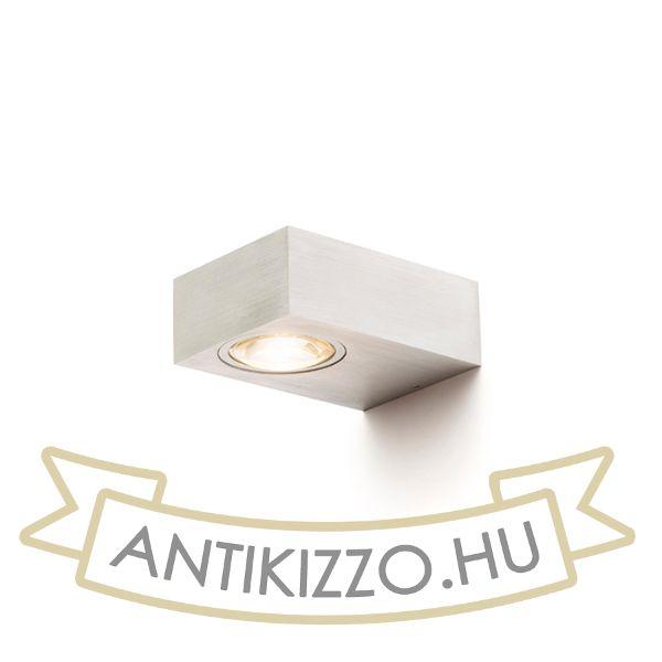 Kép KORSO II fali lámpa  szálcsiszolt alumínium 230V LED 2x3W 120° IP54  3000K