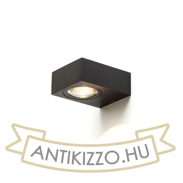 Kép KORSO I fali lámpa  fekete elox 230V LED 5W 120° IP54  3000K