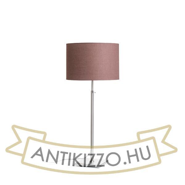 Kép EDIKA asztali lámpa barna matt nikkel 230V E27 42W