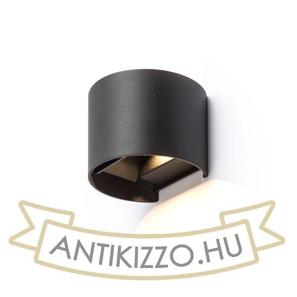 Kép TITO R fali lámpa fekete  230V LED 6W IP54  3000K