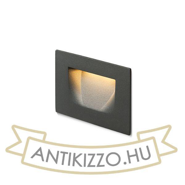 Kép PER süllyesztett lámpa anrtracitszürke  230V LED 3W IP54  3000K