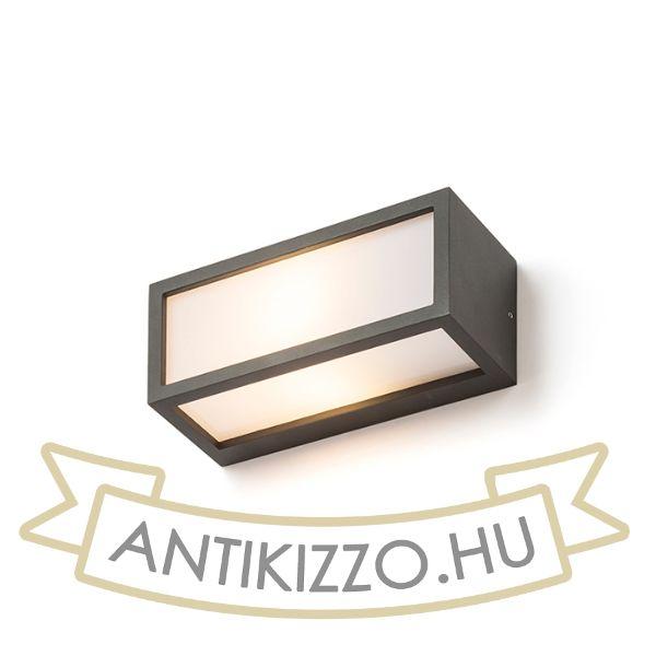 Kép DURANT fali lámpa anrtracitszürke  230V E27 18W IP54