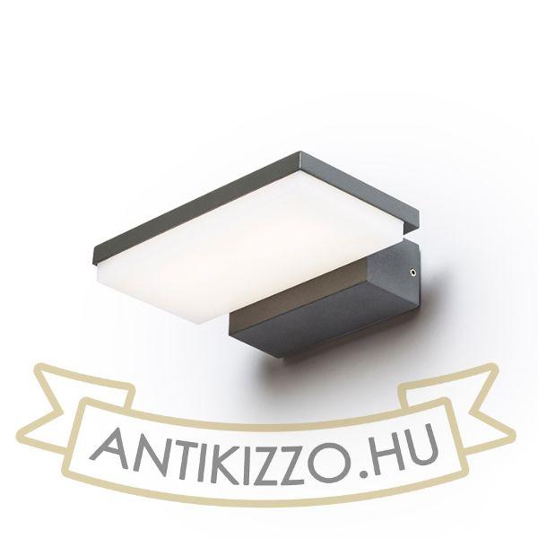 Kép XYLO fali lámpa anrtracitszürke  230V LED 8W IP54  3000K