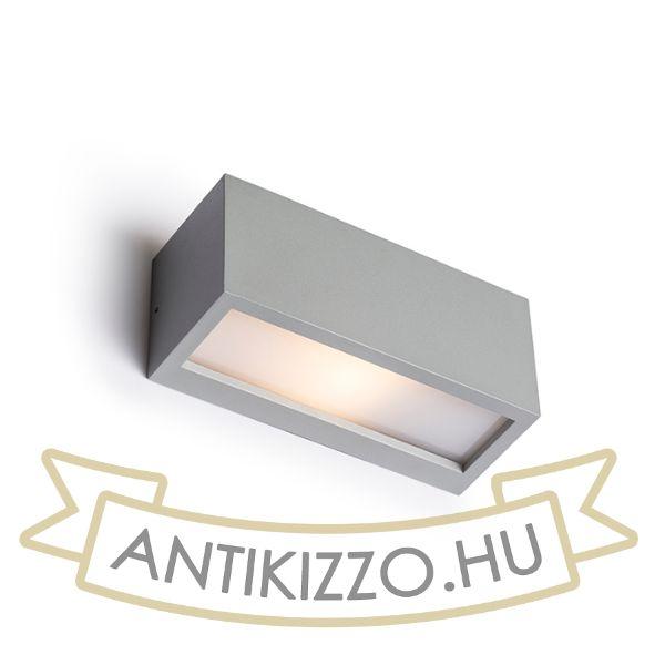 Kép DURANT UP - DOWN fali lámpa ezüstszürke  230V E27 18W IP54